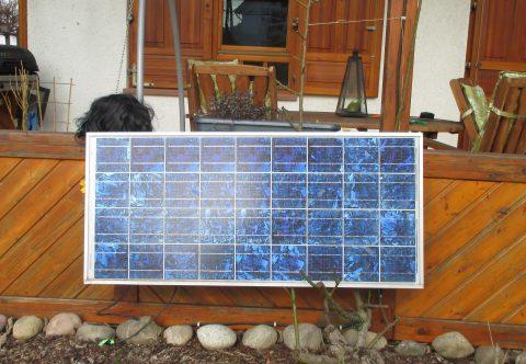 Stecker Solar Geräte für Oma und Opa