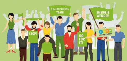 Digitalisierung in der Energiewende: Blogparade gestartet