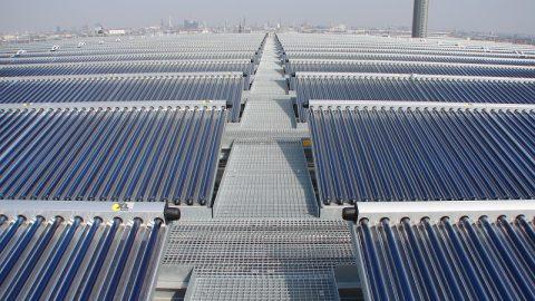 Solarthermie: Effizienz durch Größe
