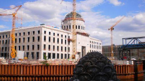 Berliner Stadtschloss wärmt sich geothermisch