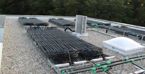 Eisspeicher: Regeneration über Solarabsorber