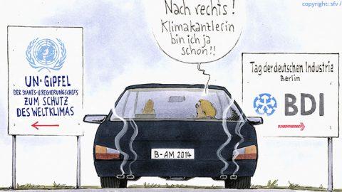 Merkels Stromwende klar skizziert