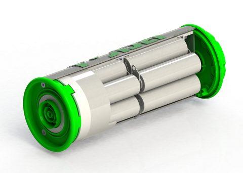 Modular skalierbare EnergyTubes könnten Blei-Batterien ersetzen
