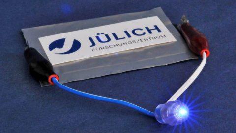 Neue Feststoff-Lithium-Ionenbatterie mit Keramik-Elektrolyt