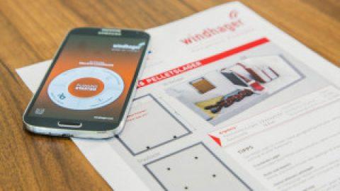 App zur Planung von Lagern von Holzpellets für iOS, Android und Web – Kaminofen und Speicherofen Portal