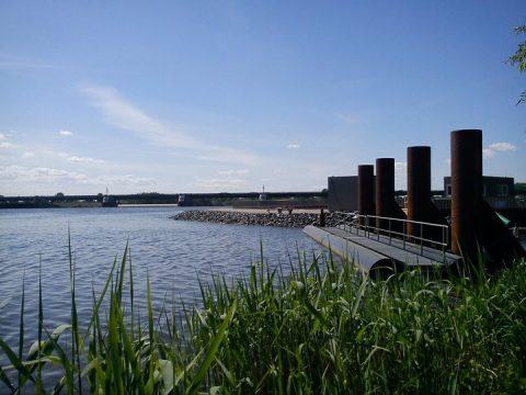 Schleusen können als Pumpspeicherkraftwerke genutzt werden