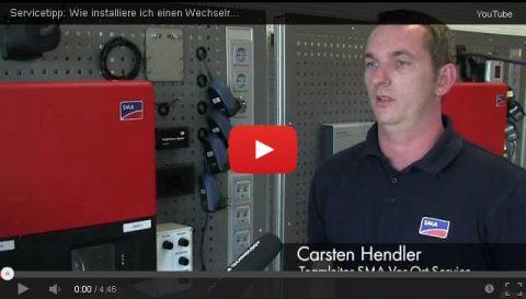 Servicetipp: Wie installiere ich einen Wechselrichter richtig?