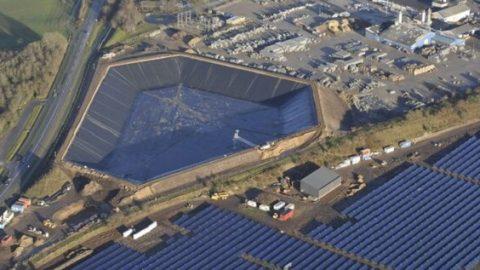 Weltgrößte Solarthermieanlage nutzt Power-to-Heat