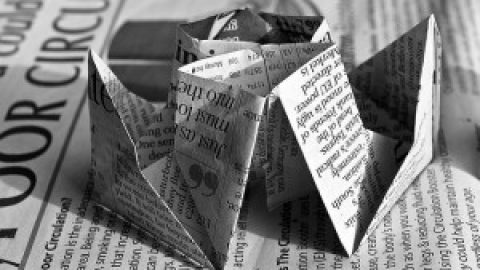 Bei Papier liegen Chancen zur Energieeinsparung auch beim Einkauf von Recyclingpapier