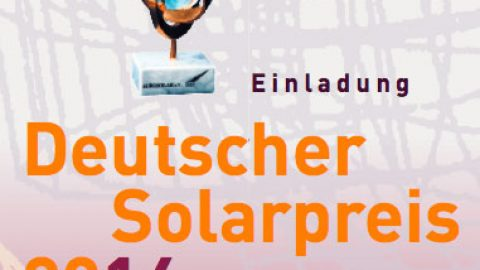 Deutscher Solarpreis 2014 – Energieblogger erhalten Auszeichnung