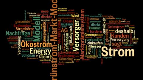 [Presse] Grünstrom-Markt-Modell wiederholt vorgestellt (Greenpeace Energy)