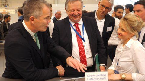 E-World 2016 – Messerundgang mit Umweltminister Remmel