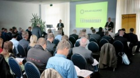 Kompakter Vergleich der Solarspeichersysteme beim 1. StorageDay bei Donauer erfolgreich