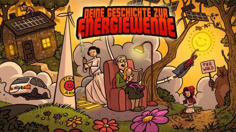 Schick uns deine Geschichte zur Energiewende