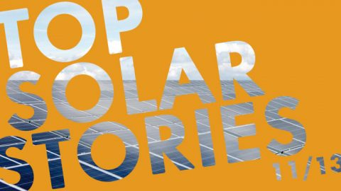 The Top 5 Solar Stories in November 2013