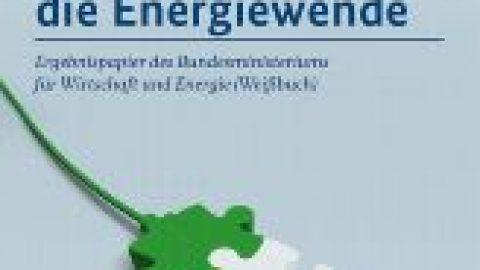 Weissbuch Strommarkt der Energiewende veröffentlicht