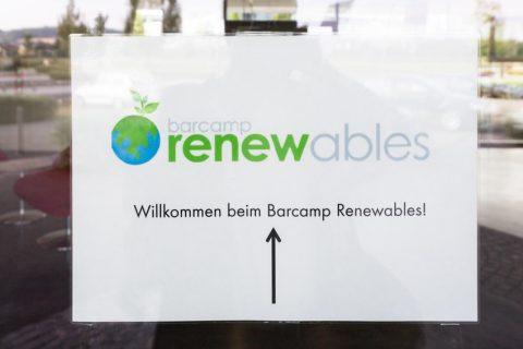 Der Countdown läuft: noch zwei Wochen bis zum Barcamp Renewables