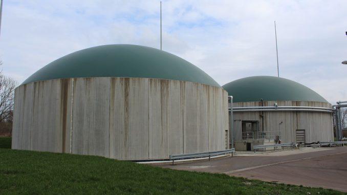 Sieht ab 2023 unsicheren Zeiten entgegen: Biogasanlage des Kompostierwerks in Weißenfels. Foto: Urbansky