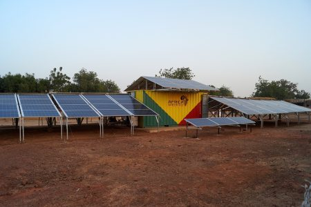 Crowdfunding Solarcontainer Africa GreenTec