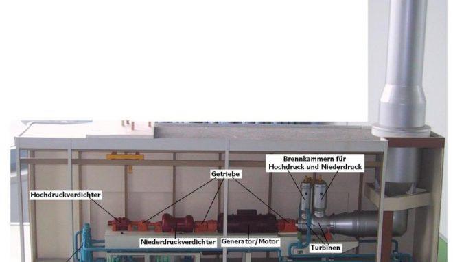 Der einzige große Druckluftspeicher in Deutschland wird in Huntorf betrieben. Ein Projekt auch die bei der Kompression entstehende Abwärme zu nutzen, erwies sich als nicht wirtschaftlich. Grafik: Govgel / Wikimedia / gemeinfrei