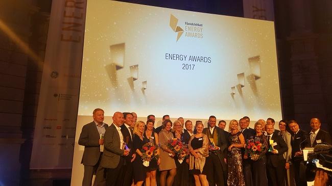 Gewinner der Energy Awards 2017