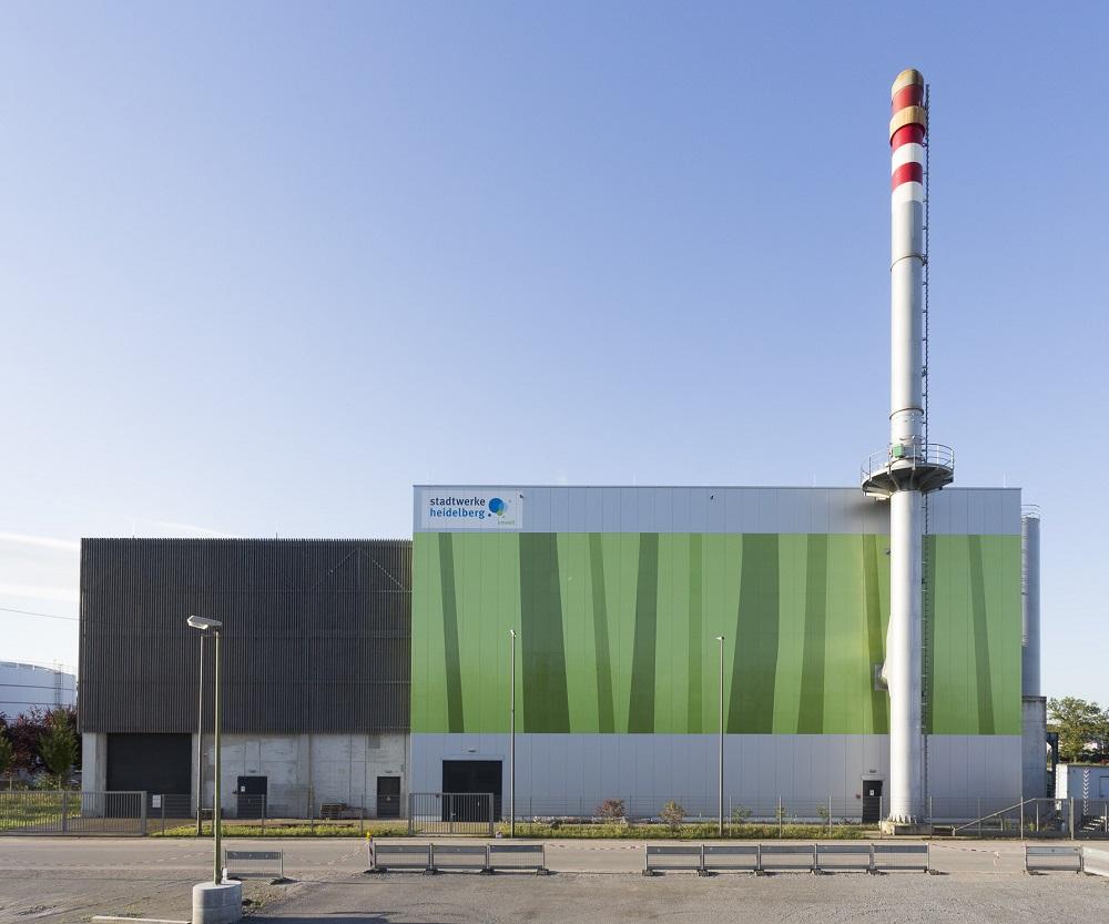 Biomasseheizkraftwerk in Heidelberg. Foto: SW Heidelberg